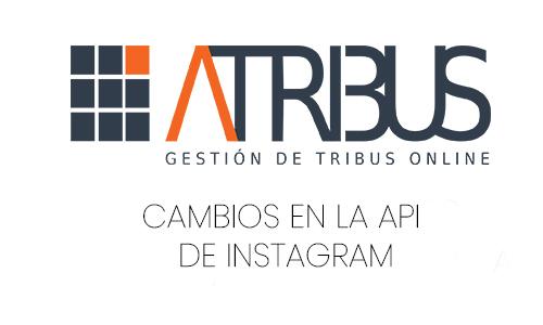 Cambios API de Instagram