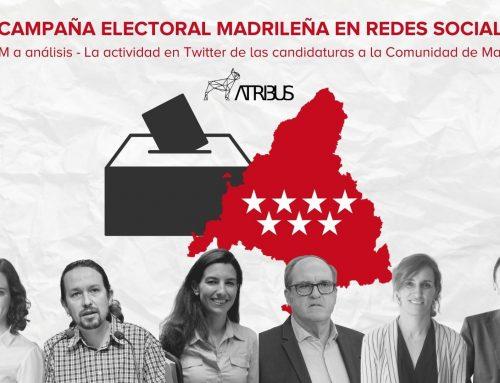 La campaña electoral madrileña en redes sociales
