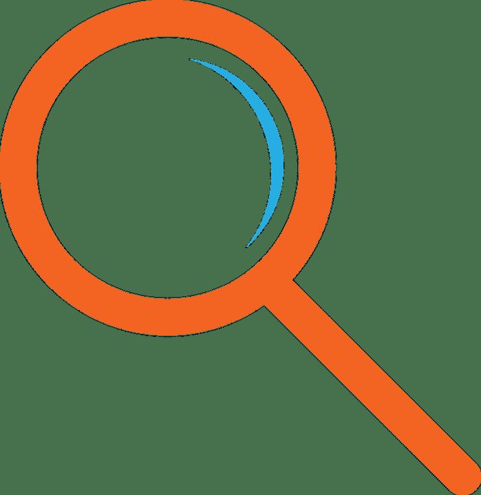 Lupa naranja Atribus