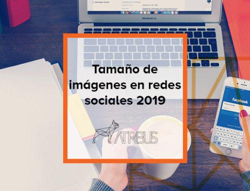 Guía tamaños de imágenes en redes sociales 2019