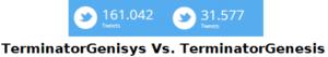 Menciones TerminatorGenisys en Twitter