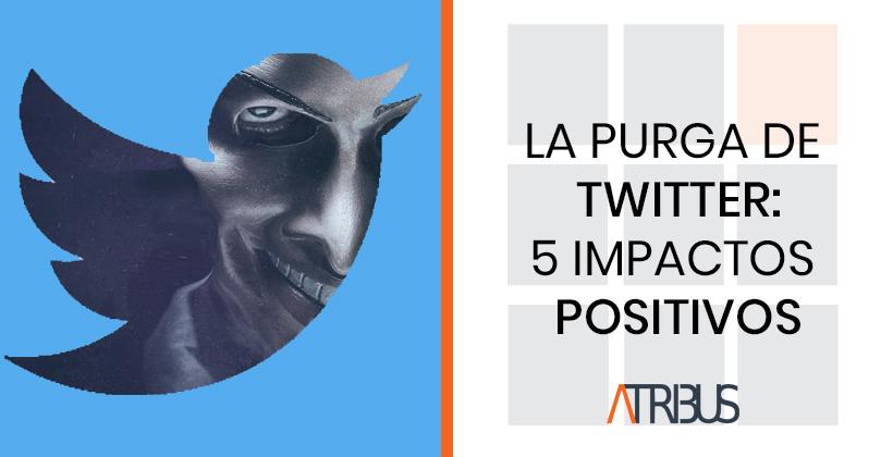 La purga de Twitter: cinco impactos positivos | Atribus Monitoring