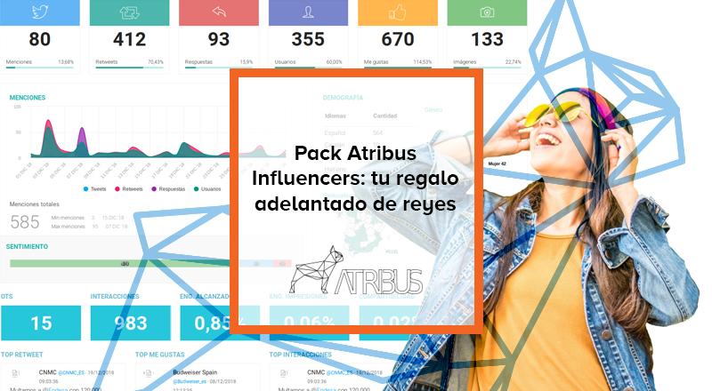 Pack influencers Atribus
