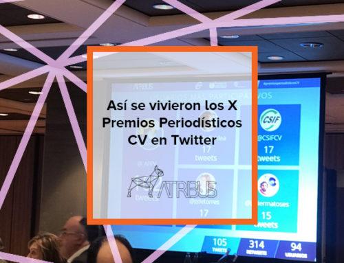 Así se vivieron los X Premios Periodísticos CV en Twitter