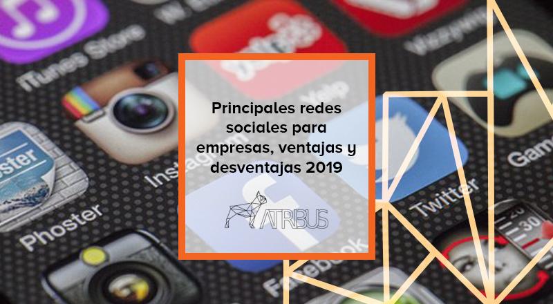 Principales redes sociales Atribus
